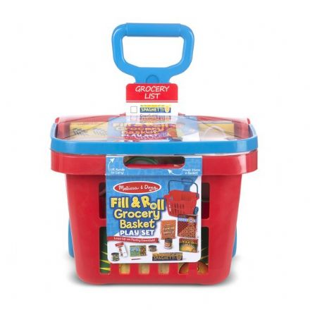 Melissa & Doug Grocery Basket Play Set